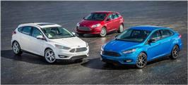 La Ford Focus, modèle le plus vendu au monde en 2013