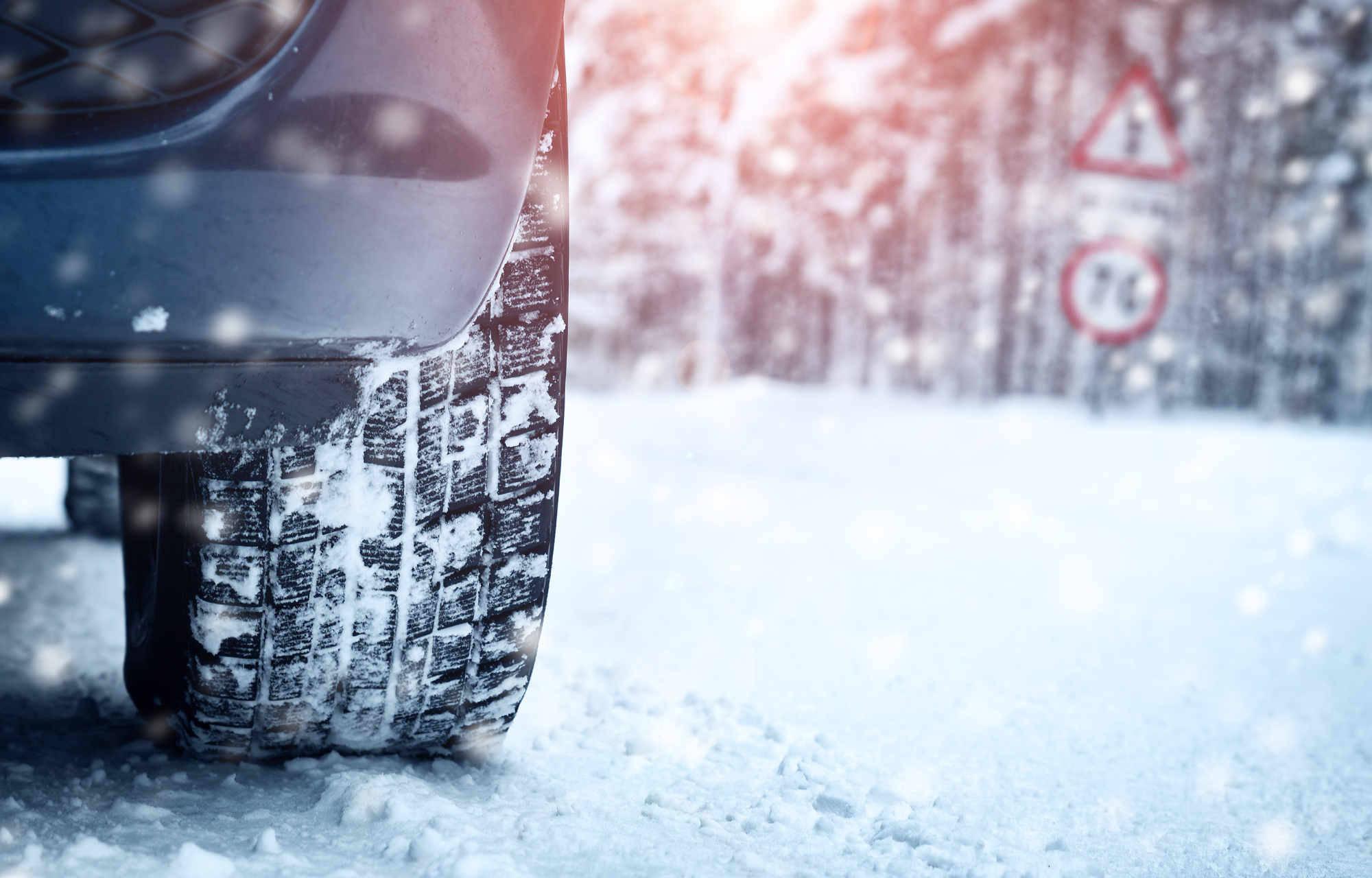 Les pneus neige vont vous faire aimer l'hiver !