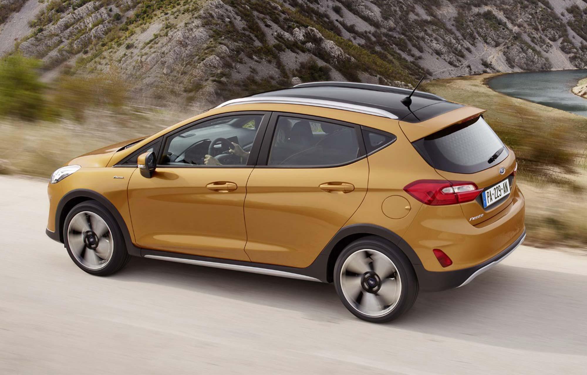 Ford Fiesta Active : un look baroudeur inspiré des SUV.