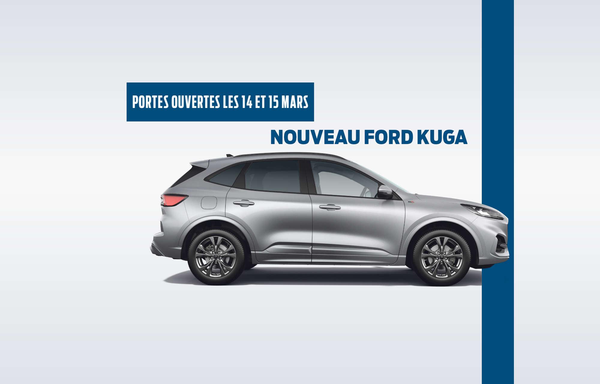 **Journées Portes Ouvertes** chez Ford Nord les 14 et 15 mars !