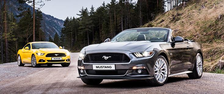 Découvrez la Nouvelle Ford Mustang !