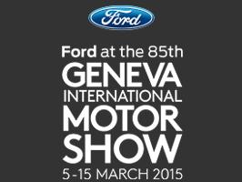 Découvrez vite les modèles Ford au Salon de Genève