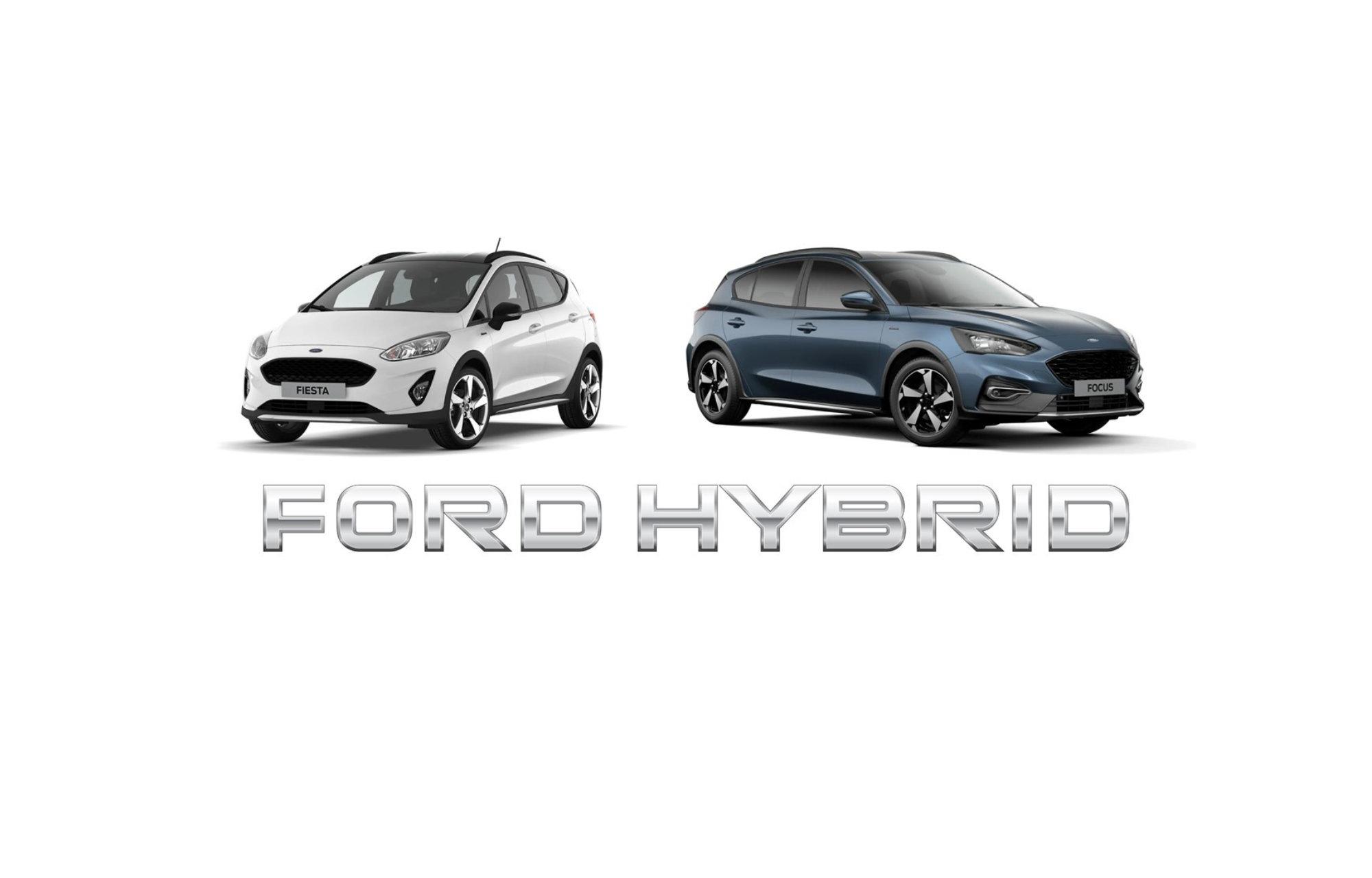 **Fiesta et Focus EcoBoost Hybrid : la nouvelle génération passe à l'hybride pour la première fois**