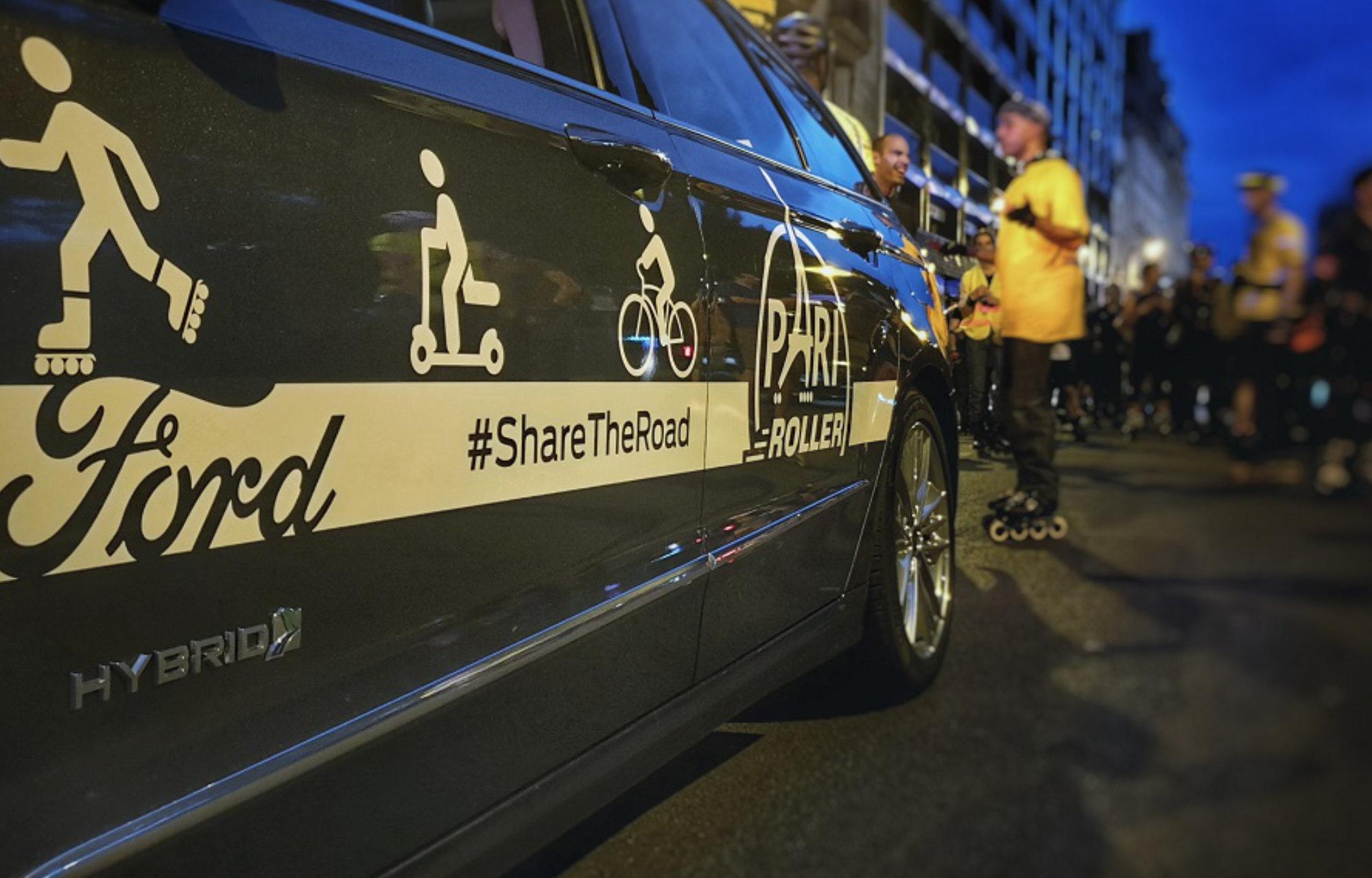 Ford devient partenaire officiel de Pari Roller, la célèbre randonnée parisienne qui s'ouvre aux nouvelles mobilités