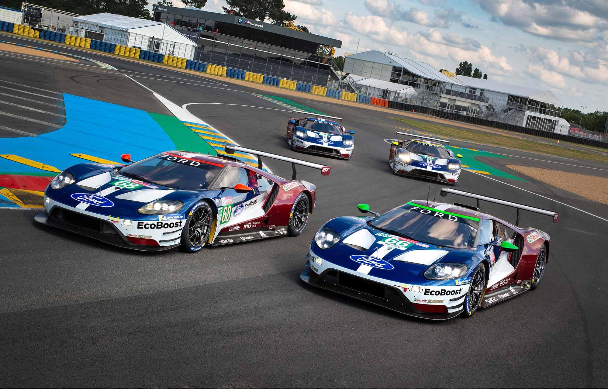 Tous derrière Turbo McBoost et les 4 Ford GT : suivez les 24 Heures du Mans en direct