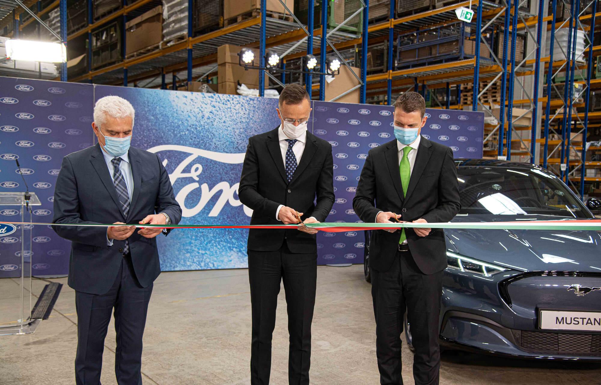 Ford az első európai Regionális Alkatrész Központja