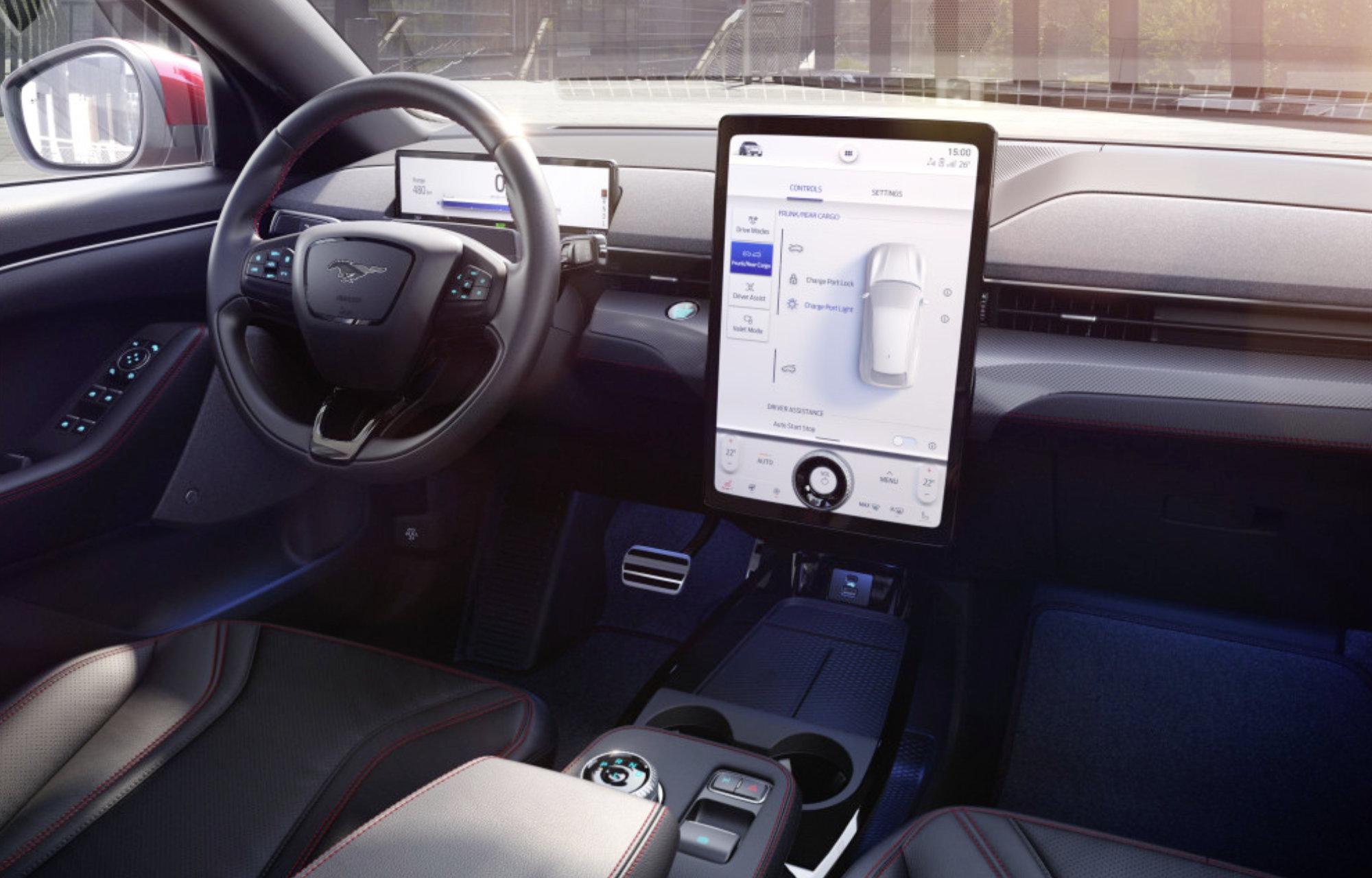A Ford új kommunikációs és szórakoztató rendszere.