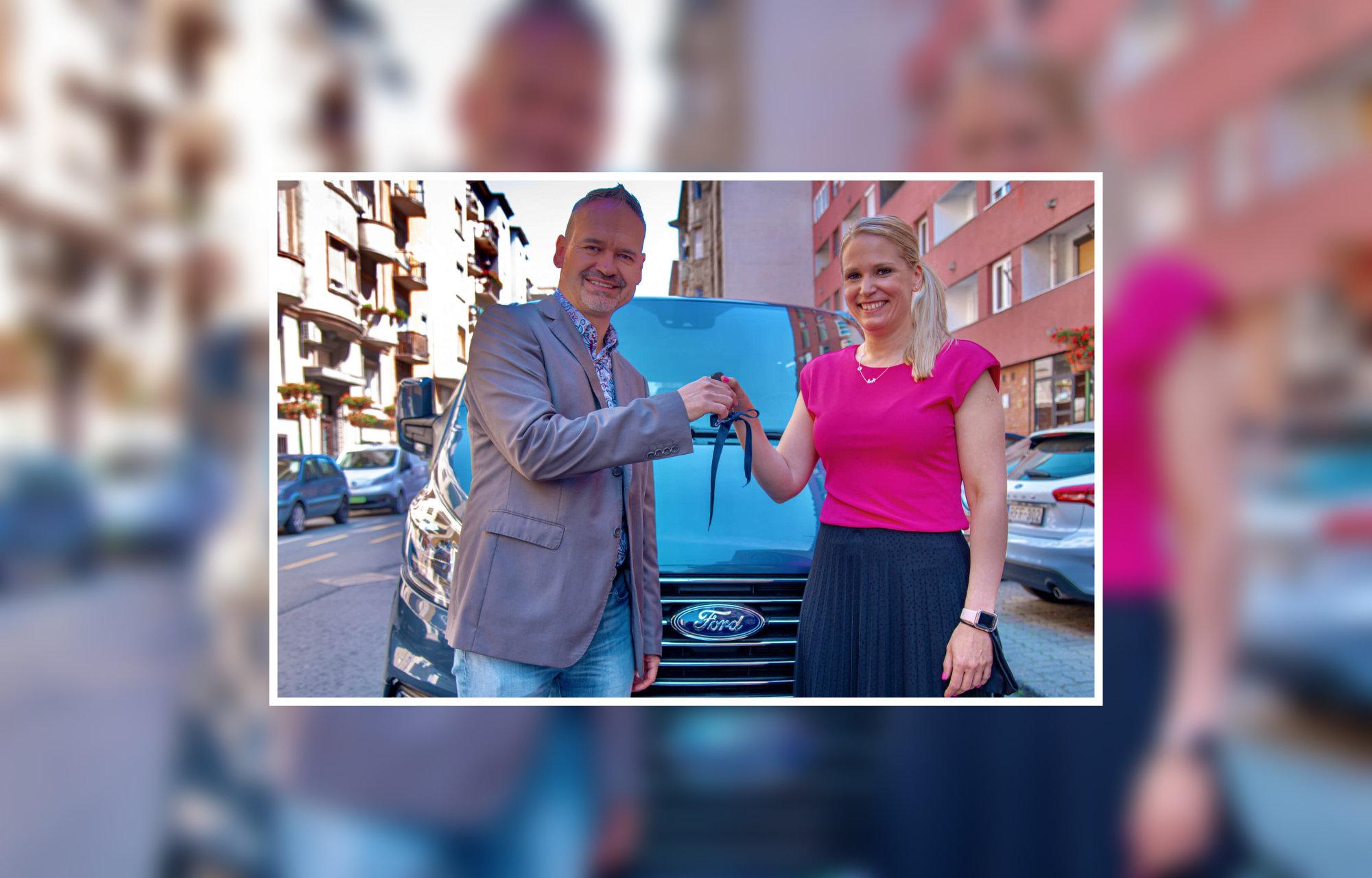 RTL Klub Cápák 1 éves FORD haszonjármű használatot kapott