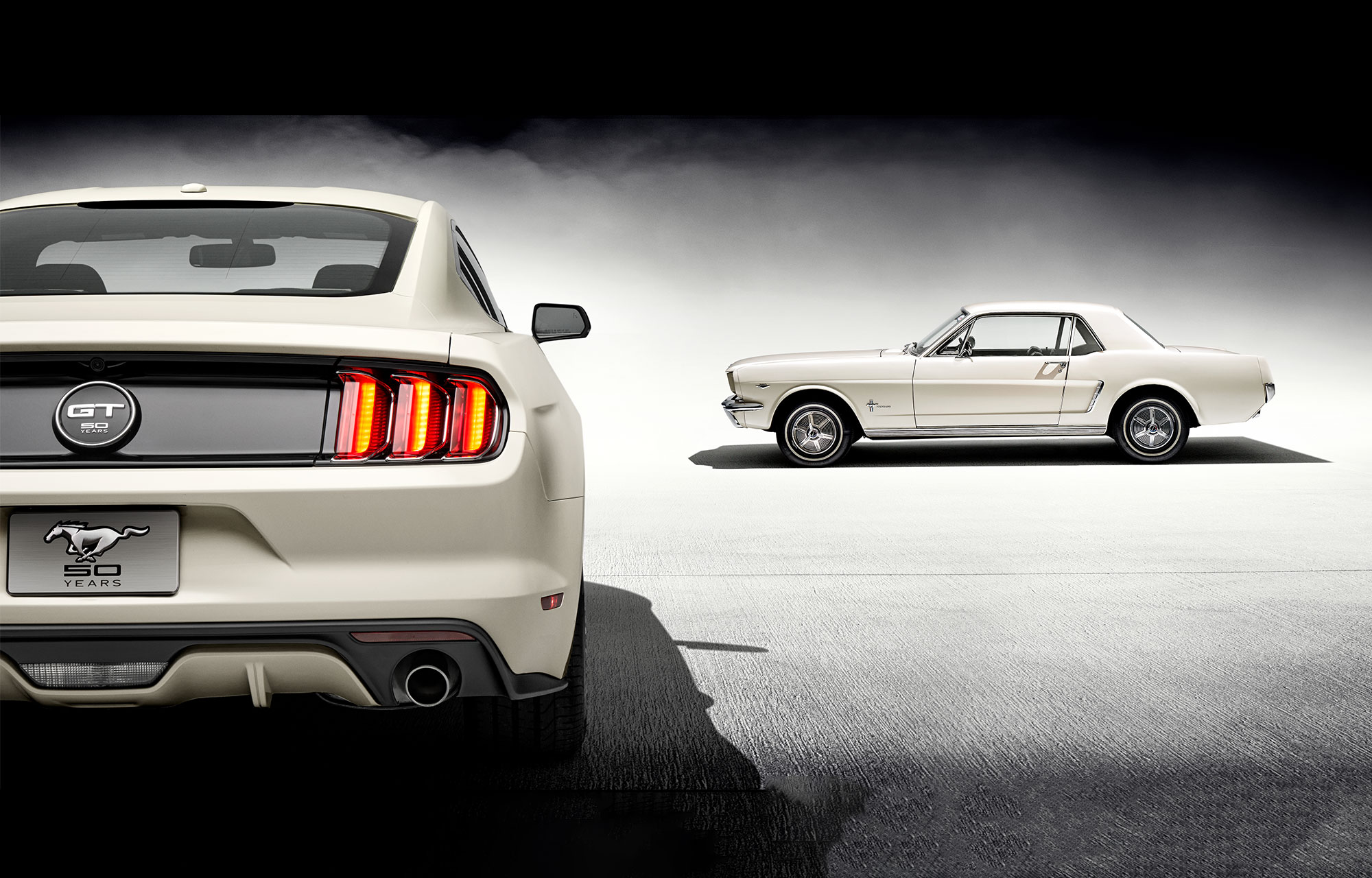 Ford mustang celebrates 50 years