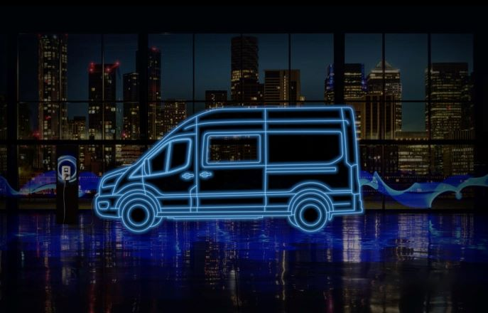E-Transit Double cab-in-van variant