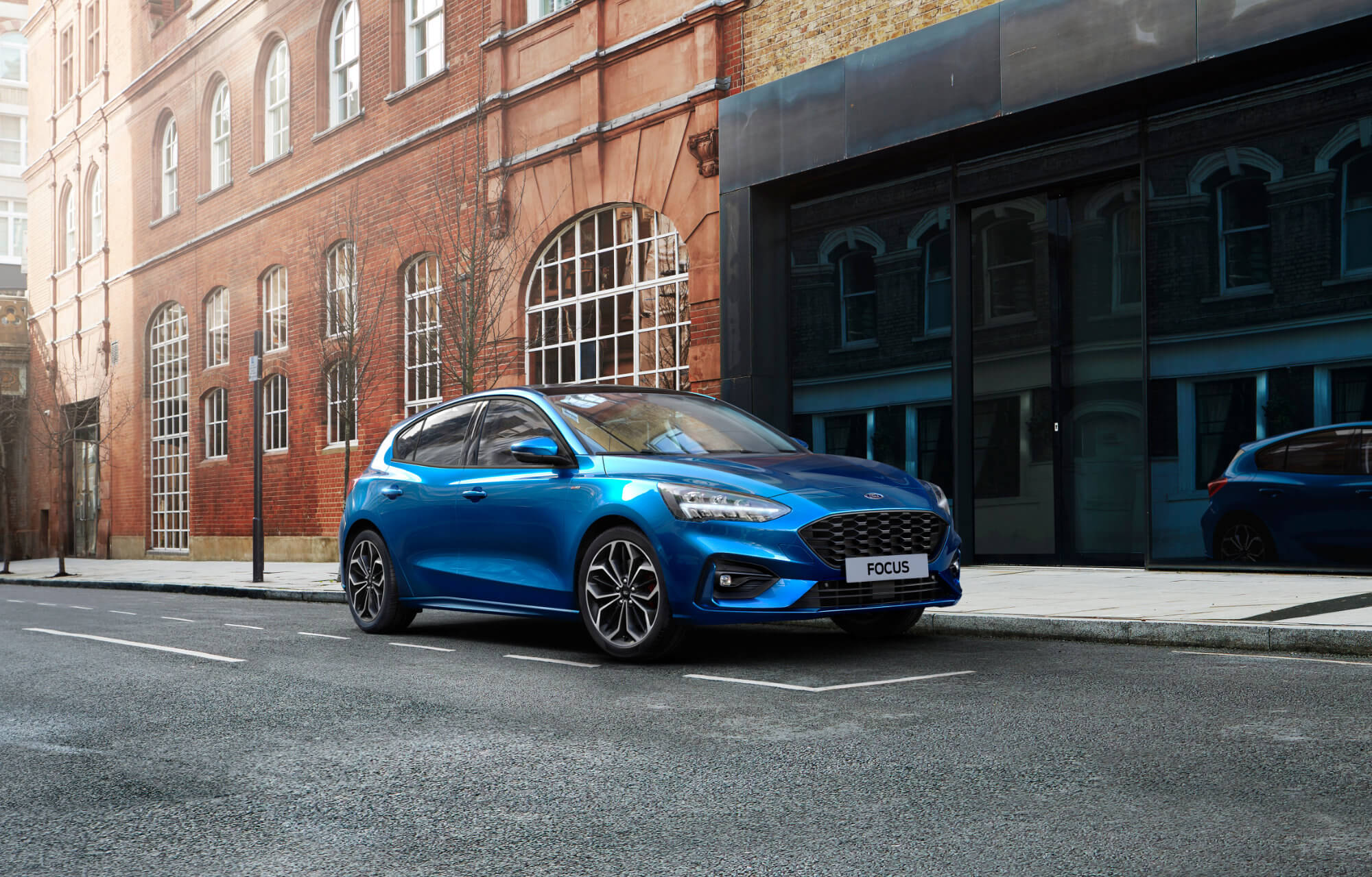New Ford Focus EcoBoost Hybrid