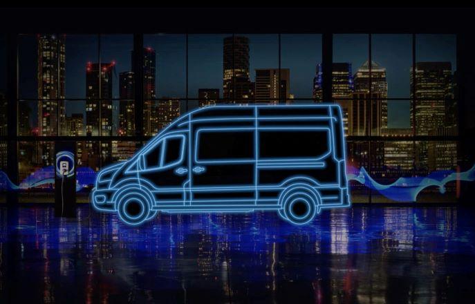 E-Transit Van variant