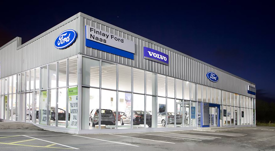 Finlay Ford Showroom in Naas, Kildare