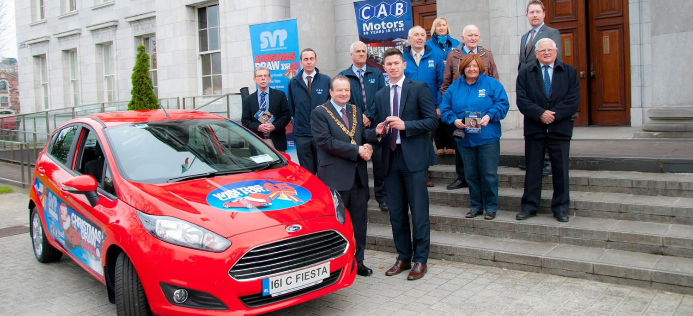 CAB donates Ford Fiesta to St Vincent de Paul
