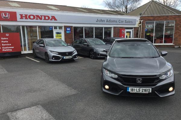 John Adams Car Sales, Portlaoise