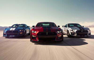 De nieuwe Mustang Shelby GT500