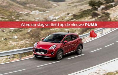 Uw ideale partner: **de Ford Puma**