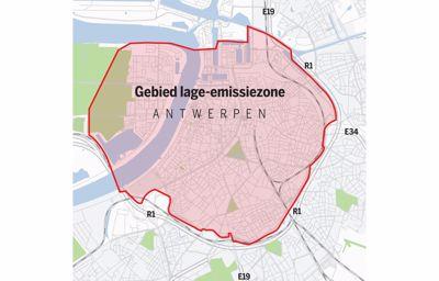 Mag uw wagen nog Antwerpen in?