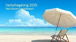 Verlofregeling 2015