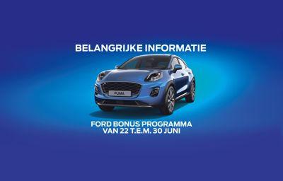 **Ford Bonus Programma**