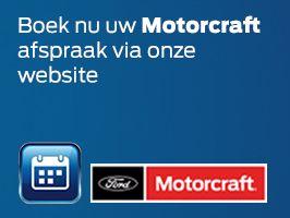 Boek nu uw motorcraft afspraak rechtstreeks vanaf onze website!