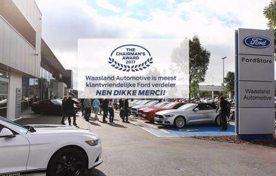 Waasland Automotive is meest klantvriendelijke Ford verdeler