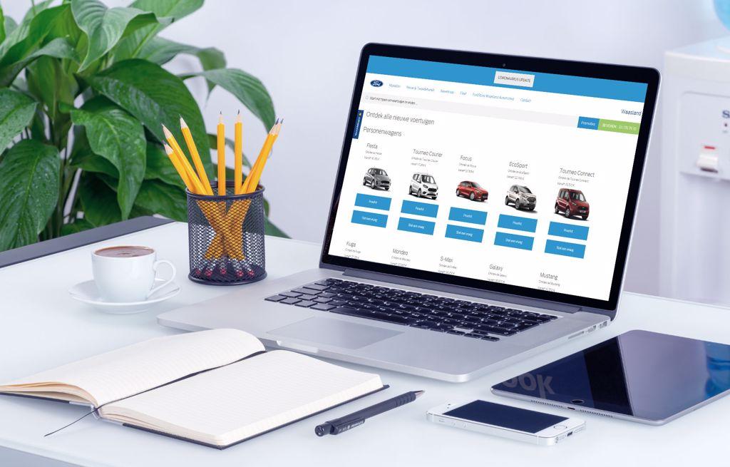 Uitzonderlijke stockverkoop Ford B-MAX bij Waasland Automotive