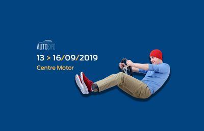 **Centre Motor à l'Auto Expo La Louvière !**
