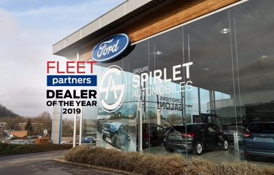 Spirletautomobiles élu Fleet dealer of the year 2019 pour la Wallonie