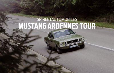 Retour en image sur la première édition du **Mustang Ardennes Tour**