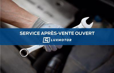 Le service après-vente LuxMotor est maintenant ouvert