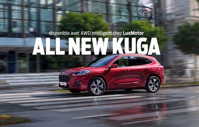 **All New Kuga** maintenant aussi disponible en AWD intelligent