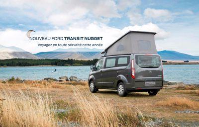 Voyagez en toute sécurité avec le **nouveau Ford Nugget**