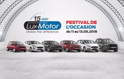 Festival de l'occasion 2018 chez LuxMotor