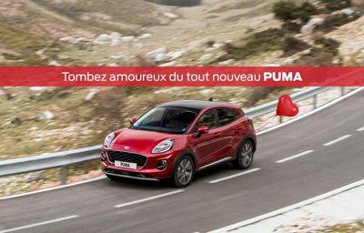 Votre partenaire idéal : **Ford Puma**