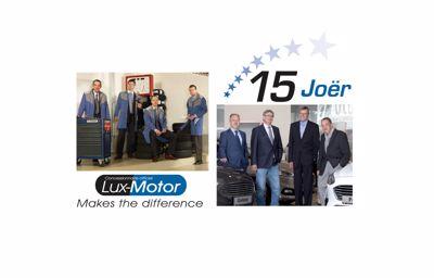 15éme anniversaire : LuxMotor poursuit sa route