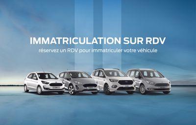 Immatriculation possible sur**RDV**