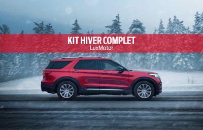 Promotion Pneus kit-hiver complet  **Ford** chez LuxMotor
