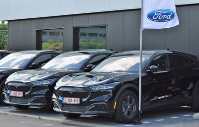 10 Ford Mustang Mach-E's voor Electro-Test