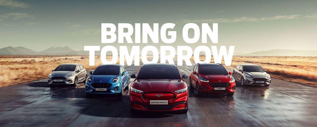 Ford Bestseller Serie met Kuga, Focus en Fiesta
