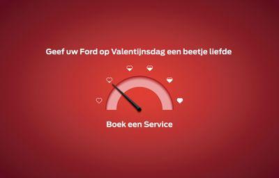 **Geef uw Ford een beetje liefde in februari!**