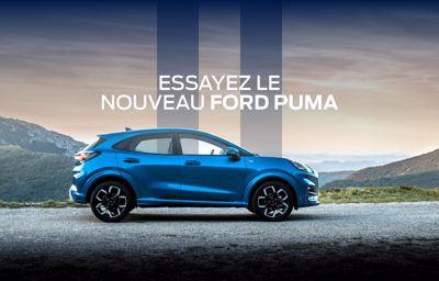 Le Ford Puma est à l'essai