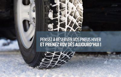 Pensez à réserver vos pneus hiver et à prendre rendez-vous !