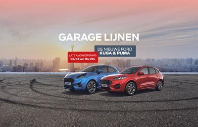 **De lancering van de nieuwe Ford Kuga & Puma**