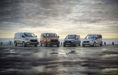 Nieuwe Trail- en Active-modellen voor het Ford Transit-gamma