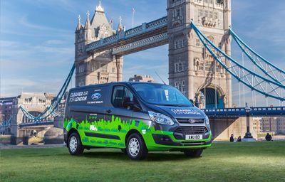Ford zoekt in Londen oplossingen voor stedelijke verkeersproblemen