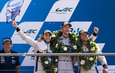 Ford Chip Ganassi Racing tweede in Le Mans