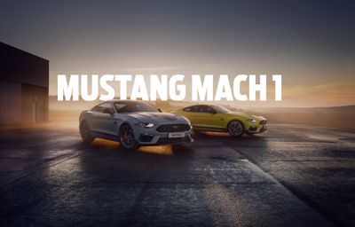 Mach 1: de limited-edition Mustang komt aan in Europa