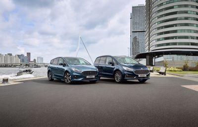 De nieuwe Ford S-MAX en Galaxy