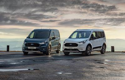 Ford Tourneo en Transit Connect Active met terreincapaciteiten om outdooravonturen te beleven